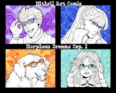 Morpheus Dreams Pag16 - Mithril ArtMithril Art