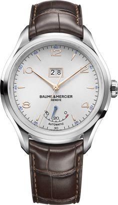 La Cote des Montres : La montre Baume et Mercier Clifton Grande Date et Réserve de Marche - Reflet de l'expertise et du savoir-faire horloger de Baume & Mercier
