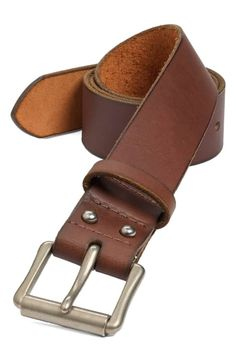 Great for Red Wing 'Pioneer' Belt Mens accessories from top store Fashion Belts, Fashion Shoes, Mens Fashion, Leather Belts, Leather Men, Men's Belts, Red Wing Shoes, Red Shoes, Headband Styles