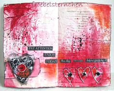 froebelsternchen: 50 SHADES OF RED