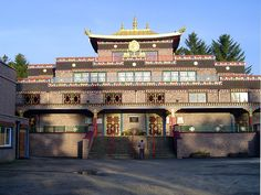 Kagyu Samyé Ling Monastery and Tibetan Centre in Scotland - (explore your biking wanderlust on www.motorcyclescotland.com)