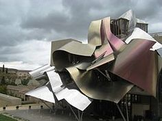 Marqués de Riscal,Elciego, Spain, by Frank Gehry One With Nature, Frank Gehry, Contemporary Architecture, Beautiful Places, Around The Worlds, Instagram, Wineries, 50 Shades, Buildings