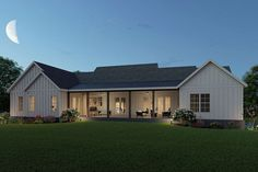 Barn House Plans, Ranch House Plans, New House Plans, Metal Barn Homes, Pole Barn Homes, Modern Farmhouse Design, Rustic Farmhouse, Small Cottage Designs, Barn House Design