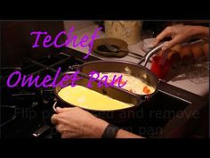 How to make an omelet in a TeChef Omelet Pan