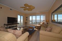 VRBO.com #698607 - Oceanfront 2 Bedroom Palmetto Dunes Condo with a Private Balcony and Great Ocean Views