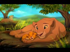 Lion King Fanart by LanieJ on DeviantArt Kiara Lion King, Simba Y Nala, Roi Lion Simba, Lion King Simba's Pride, Lion King 3, Lion King Fan Art, Le Roi Lion, Disney Lion King, King Art