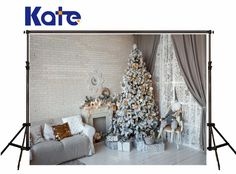 Find More Background Information about Kate Christmas Photography Backgrounds White Wood Floor Fireplace Photo Background Christmas Tree Brick Wall for Family Backdrop,High Quality wall mounted flower holder,China tree wall art Suppliers, Cheap wall mounted bath shower mixer taps from Art photography Background on Aliexpress.com