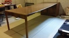 Hey, I found this really awesome Etsy listing at https://www.etsy.com/listing/206886071/vintage-expandomatic-hidden-dining-table