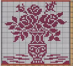 Ravelry: Potholder Flowers 2 pattern by Regina Schoenfeldt