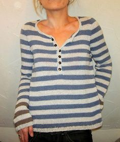 driftwood: free Ravelry sweater pattern from Isabell Kraemer