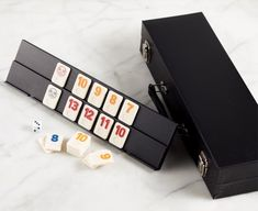 Rummy Game with Carry Case Holiday Gift Guide, Holiday Gifts, Kitchen Store, Usb Flash Drive, Entertaining, Games, Xmas Gifts, Gaming, Funny