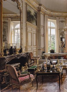 Interiors Redux | The Homes of Hubert de Givenchy in Paris & the South of France