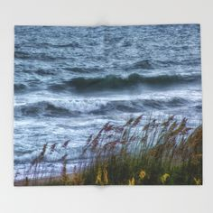 Blowing Sea Oats Throw Blanket