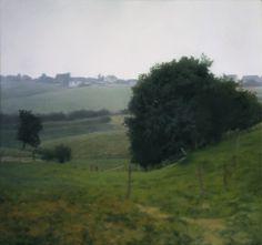 Gerhard Richter, Meadowland, Oil on Canvas.