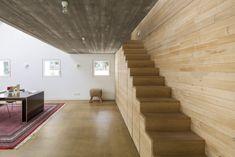 """Treppe zur Empore: """"Häuser des Jahres"""" von Wolfgang Bachmann und Wladimir Kaminer ©Stocker, Dewes Architekten BDA"""