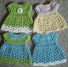 Vestido 1617 jardn de rosas pinterest crochet doll dresses for preemie baby but could use for potholder free with ravelry login link correct and pattern is free when i checked on to fit dt1010fo