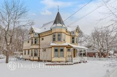 c.1895 Queen Anne Victorian located at: 99 Swezey St, Patchogue, NY 11772