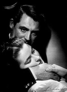 """Notorious,"" Ingrid Bergman and Cary Grant"