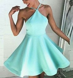 short homecoming dresses,mint green homecoming dresses,backless homecoming dresses