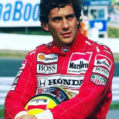 Brazil's three-time #F1 world champion Ayrton Senna was born #OnThisDay in 1960 #Formula1 #OTD