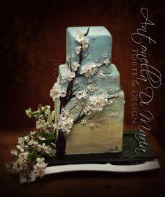 cherry blossoms  - Cake by Antonella Di Maria