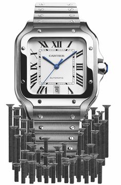 Updated Cartier Santos Watches Introduce New QuickSwitch and SmartLink Systems