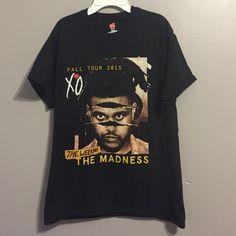 The Weeknd BBTM Fall Tour Shirt Beauty Behind The Madness Fall Tour 2015 T-Shirt Tops Tees - Short Sleeve