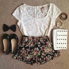 This is an adorable outfit my style одежда, идеи наряда y наряды. Cute Summer Outfits, Outfits For Teens, Spring Outfits, Casual Outfits, Cute Outfits, Rompers For Teens, Party Outfits, Outfit Summer, Summer Clothes