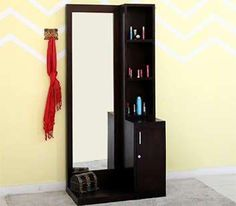 Buy Bedroom Furniture online in India from the latest collection at Wooden Street. Get furniture for your bedroom online upto OFF and get FREE delivery across India. Dressing Table Mirror Design, Simple Dressing Table, Dressing Table Storage, Dressing Room Design, Master Bedroom Wardrobe Designs, Wardrobe Interior Design, Cot With Storage, Simple Bed Designs, Almirah Designs
