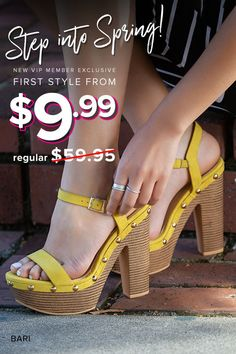 Get VIP ACCESS to the most sought-after online shoes, boots, handbags and clothing for women, handpicked for you based on your personal fashion preferences. Hot Shoes, Crazy Shoes, Me Too Shoes, Pretty Shoes, Beautiful Shoes, Lace Up Heels, High Heels, Sneakers Fashion, Fashion Shoes