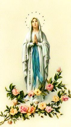 Prosa nuestra se ora del carmelo video prosa proyecto for Our lady of lourdes coloring page