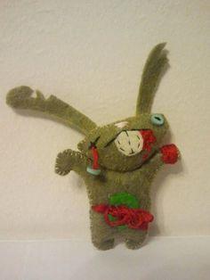 $12 Feltie Zombie Bunny