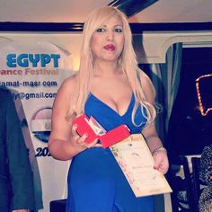 تكريم الراقصة المغربية حكيمة في مهرجان القاهره الدولي للرقص