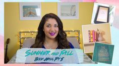 Books, Books, Books!  Summer and Fall Book Haul Part 1 | OfficiallyPhoebsTV