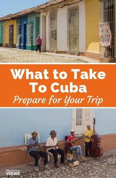 Get the complete packing list for travel to Cuba. | Packing list for Cuba | Tips to travel to Cuba | What to wear in Cuba | Prepare for Cuba | Things to bring to Cuba