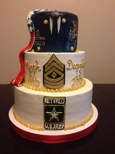 Printer Crafts Website Quotes For Teachers Moving Away Retirement Party Cakes, Military Retirement Parties, Retirement Countdown, Retirement Celebration, Retirement Party Decorations, Retirement Quotes, Retirement Ideas, Army Cake, Military Cake