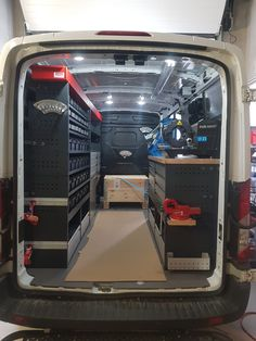Van Racking Systems, Mobile Mechanic, Van Storage, House Paint Exterior, Ford Transit, Cool Tools, House Painting, Tool Box, Garage