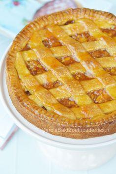 De favoriete appeltaart van Najib Amhali met geschaafde appel