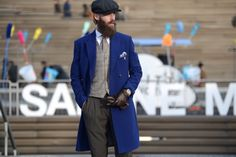 This is how Laviniu Flonta rocks Pitti Uomo! See more incredibly stylish men on www.thestreetmuse.it
