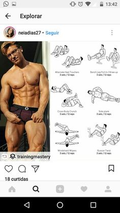 Abdominal workout with Andy. Abdominal workout with Andy. Tummy Workout, Gym Workout Tips, Fun Workouts, Workout Routines For Women, Abs Workout For Women, Abdominal Exercises, Abdominal Workout, Tummy Exercises, Abdominal Fat