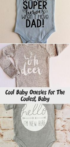 Cool Baby Onesies For The Coolest Baby Cool Lettering, Lettering Design, Simple Designs, Cool Designs, Cool Onesies, Baby Chickens, Creative Words, Cool Baby Stuff, Soft Fabrics