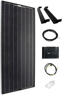 Fresh Solarmodul Komplettset schwarz