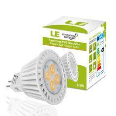 12VDC LED Lighting MR16 LED Bulb Warm White 3 Wat Marine Chrome Reading Light