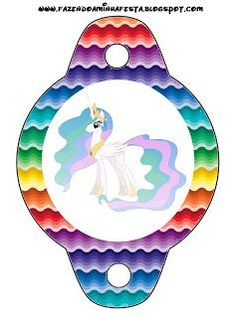 My Little Pony: {free} printables. Right click and save as (site is in spanish) My Little Pony Cumpleaños, Fiesta Little Pony, Cumple My Little Pony, Little Poney, My Little Pony Birthday Party, 2nd Birthday, Birthday Parties, Mini Pony, Festa Rainbow Dash