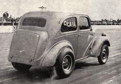 Vintage Drag Racing - Anglia