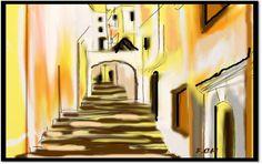 Peinture numérique,artiste peintre F.CH