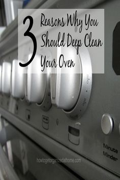 Deep cleaning your oven is important! Don't miss out on the reasons why!