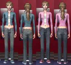 BlooMs Teen Bigger Pregnancy Belly Recolors By Chopperchic