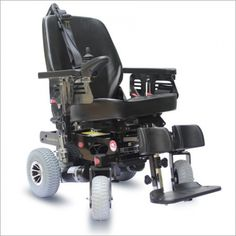 Ostrich Mobility Verve RX Power Wheelchair is recommended for indoors as well as outdoors mostly on the level surface. The removable seat design helps portability.