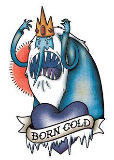 Adventure Time PlayPaks | Ice King Tattoo